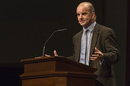 Carl Trueman preaching