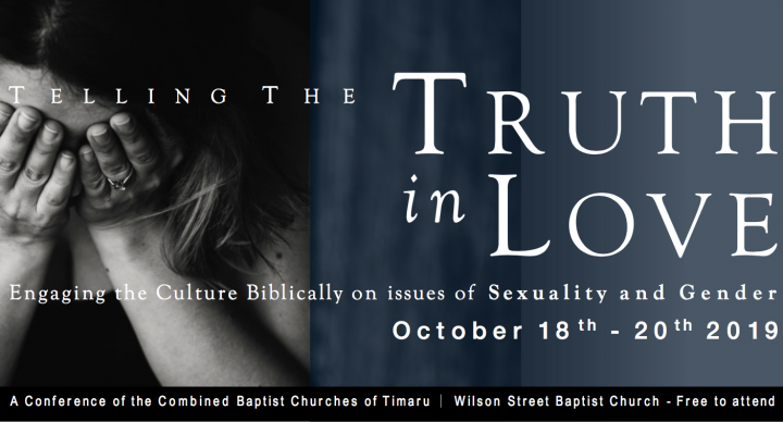 Truth in Love Conference 2019 banner